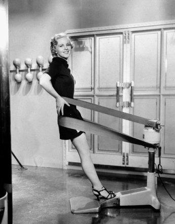 Vintage workout heels