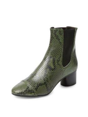Isabel Marant Danae Snakeskin Boots