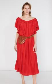 Loup Charmant Hydrus_Dress_Cadmium_Red