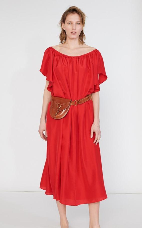 Loup Charmant Hydrus_Dress_Cadmium_Red