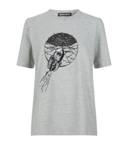 markus-lupfer-Grey-Sequin-Rocket-T-shirt