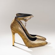 OOGii Snakeskin Heels