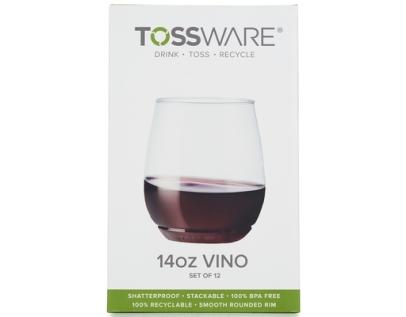Tossware Wine glasses box
