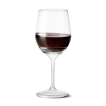 Tossware wine withstem