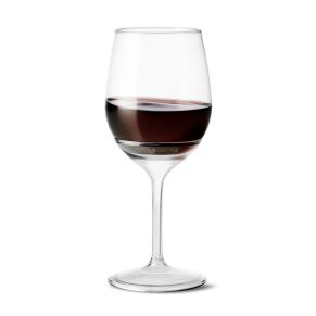 Tossware wine with stem