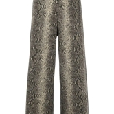 Twin Set Snakeskin Cropped Trousers