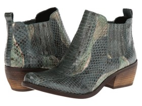 Vince Camuto leather faux Snakeskin Boots