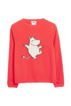 Vhinti and Parker Dancing Moomin Cashmere Sweater
