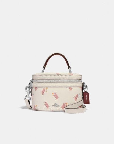 Coach Trail Bag with Party Pig on it