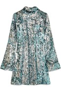 Halpern sequin turtleneck mini dress $2200 Net-A-Porter itself