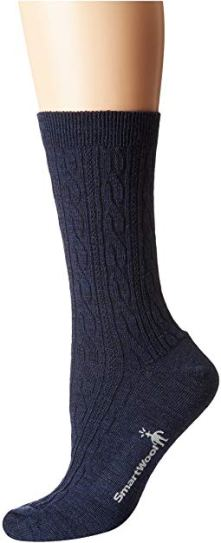 Smartwool Navy Cable Socks