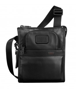 Tumi Alpha 2 Pocket Bag leather black