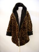 Neiman Marcus Vintage hooded faux fur coat