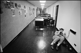 leonard-freed-new-york-city,-office-party,-1966 6