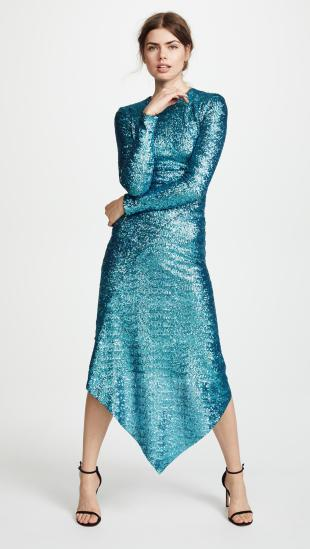 preen-by-thornton-bregazzi-Teal-Clarissa-Sequin-Dress