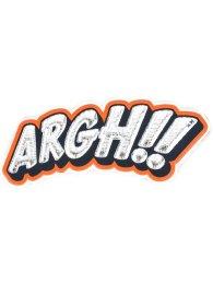 anya hindmarch argh sticker