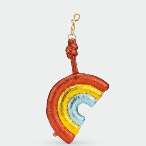 anya hindmarch chubby rainbow bag charm