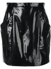 fleur-du-mal-pvc-black mini skirt 2