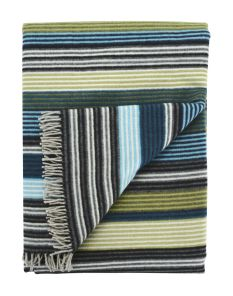 Missoni Home Blue blanket multi