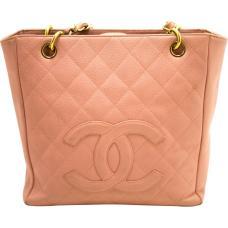 chanel Pink Pre-owned Vintage Pink Leather Handbag retro