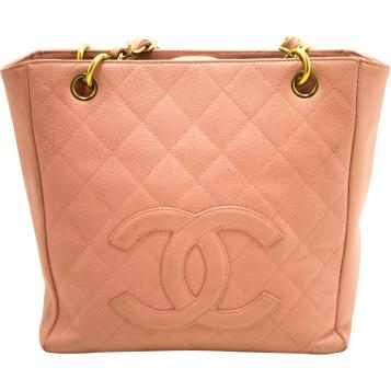 chanel Pink Pre-owned Vintage Pink Leather Handbag retro