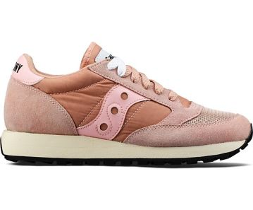 Women's Saucony Jazz Original Vintage Retro Pink