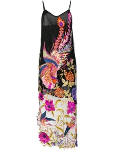 Yes Master Long Embroidered Night Dress $1469 2018