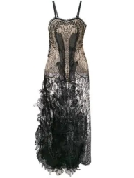 Yes Master Shear Embroidered Night Dress $1469 2018