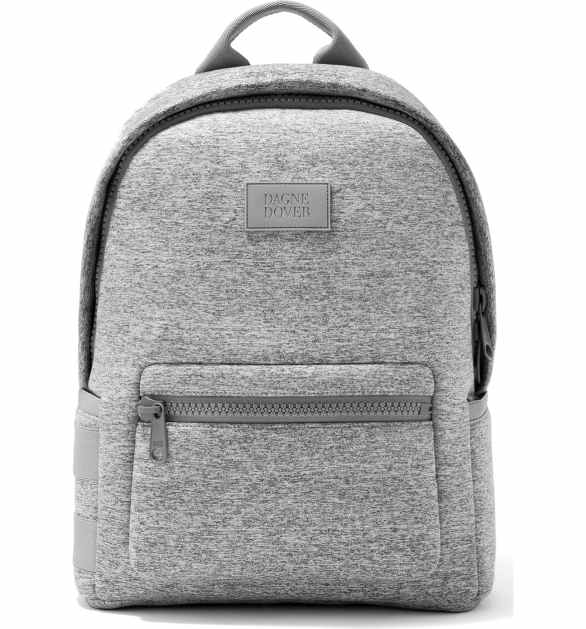 Dagne Dover 365 Dakota Medium Neoprene Backpack Heather Grey