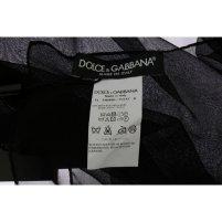 Dolce-&-Gabbana-Dolce-&-Gabbana-Black-100%-Silk-Square-Scarf (1)