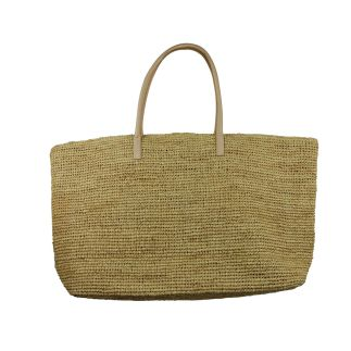 Hat Attack Luxe Straw Bag
