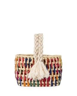 NAnnacay Cotio Straw Bag Multi