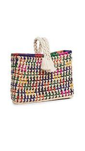 Nannacay Hani Straw Bag Multi