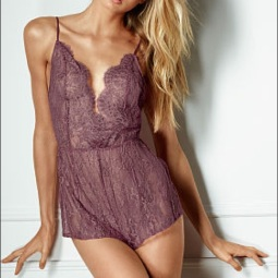 Victoria's Secret plum romper