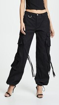 I.am.Gia black cargo pants
