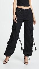 I.am.Gia black cargo pants