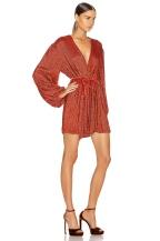 Retrofete Gabrielle Dress Burnt Orange