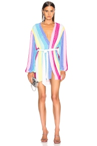 Retrofete Gabrielle Dress Unicorn Stripes