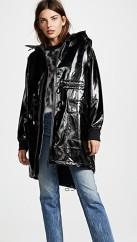 Sosken Greta Faux Patent Rain Jacket