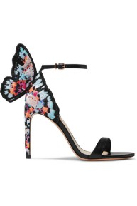 Sophia Webster Chiara Butterfly Heel multi