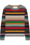 ALLUDE striped cashmere sweater $405