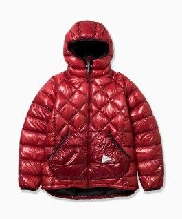 and Wander diamond stitch jacket red $761