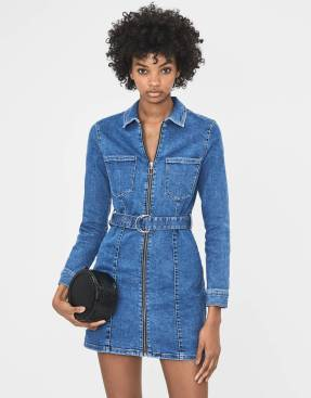 Bershka Denim dress