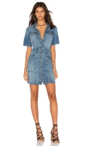 CURRent Elliott trucker denim dress