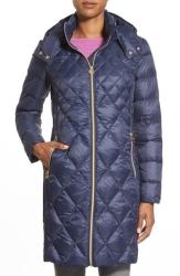 Michael Michael Kors diamond pattern down coat packable $82