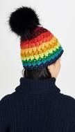 MISCHA LAMPERT rainbo black pompon ShopBop