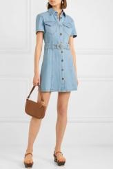 Nanushka denim dress Mora $385