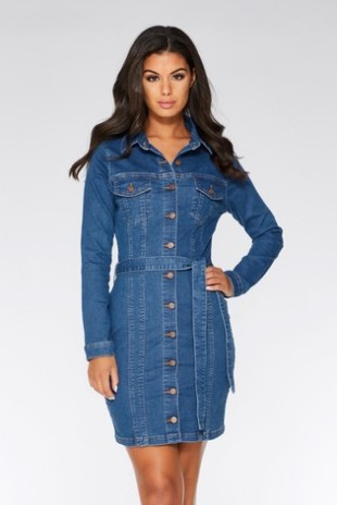 Quiz Denim Dress 37 Euro