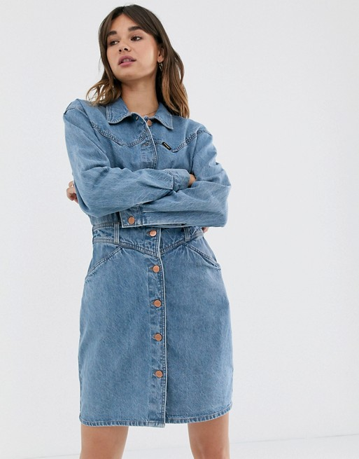 Wrangler denim dress -1-lightocean $144 ASOS