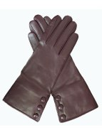 Dents Brown Leather Gloves